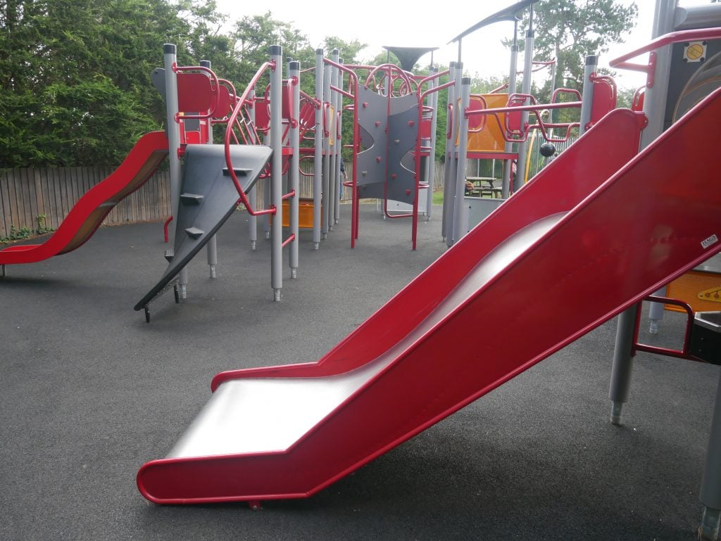 Playground at Burnby Hall Gardens