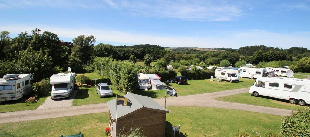 30 Great Caravan Parks on or Very Near to a Beach - UK