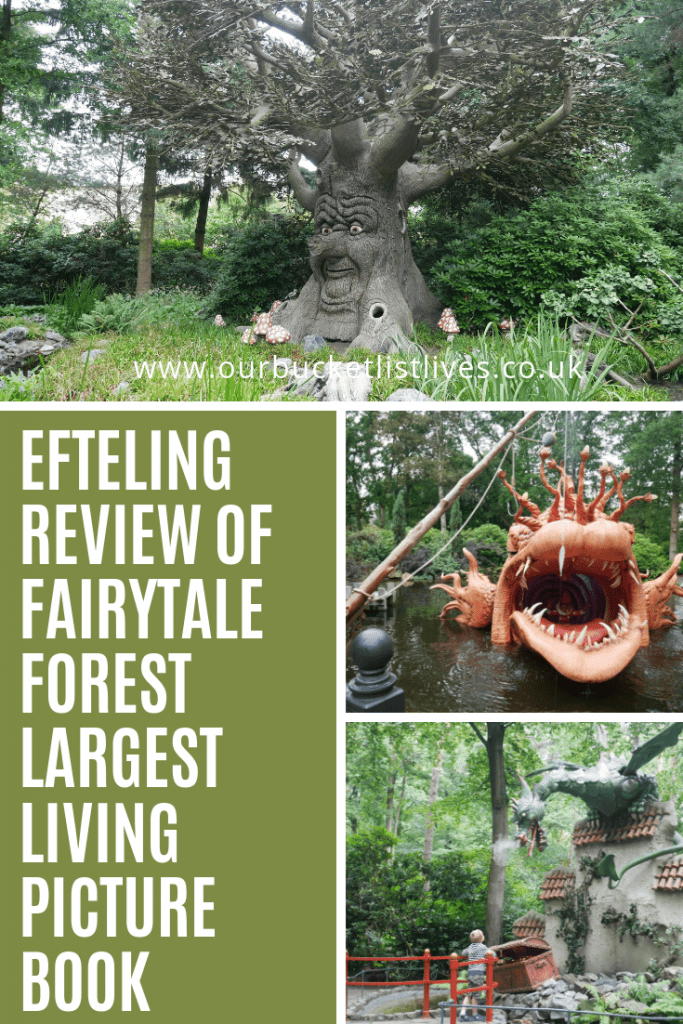 Efteling Review of the Fairytale Forest   Largest Living Picture Book