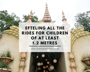 Efteling All the Rides for Children of at least 1.2 metres