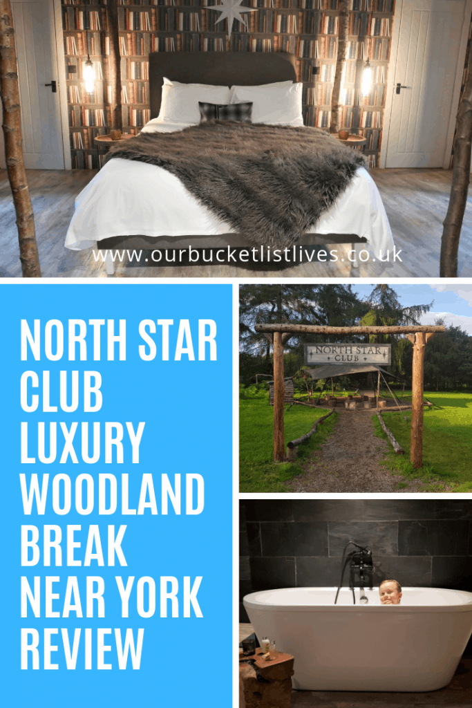 North Star Club Luxury Woodland Break near York Review Sitwell Suite