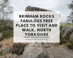 Brimham Rocks Fabulous Free Place to Visit and Walk, North Yorkshire
