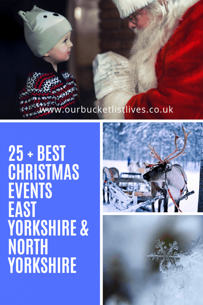 30 + Best Christmas Events East Yorkshire & North Yorkshire
