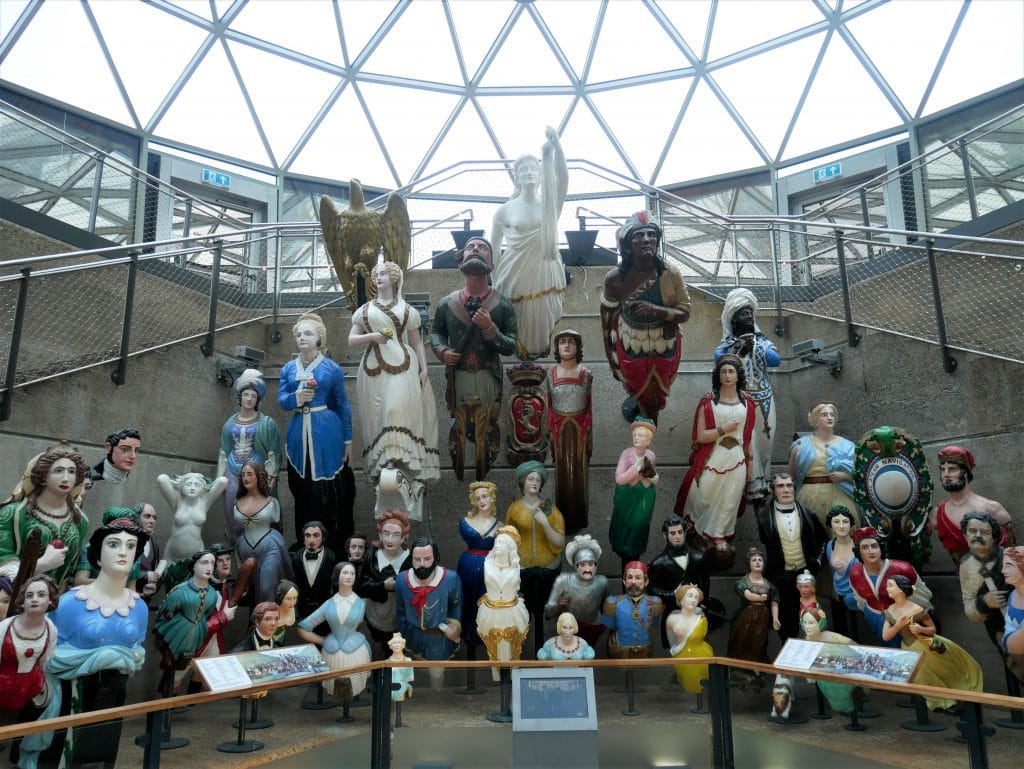 A great collection of Figureheads