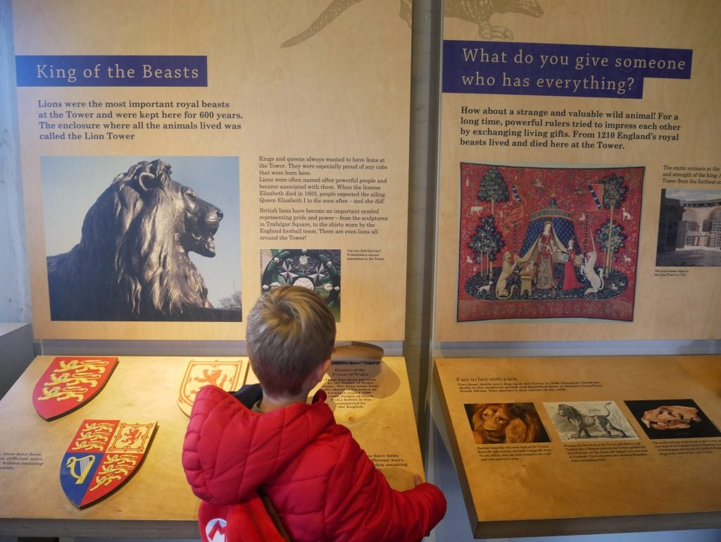 Royal Beasts exhibition