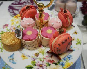 Sweet treats Alice in Wonderland afternoon tea