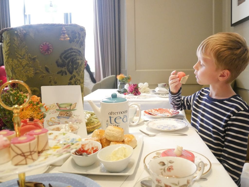 Sweet treats Alice in Wonderland afternoon tea