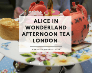 Alice in Wonderland Afternoon Tea London | Taj 51 Buckingham Gate