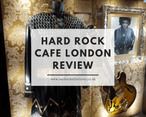 Hard Rock Cafe London Review | Old Park Lane