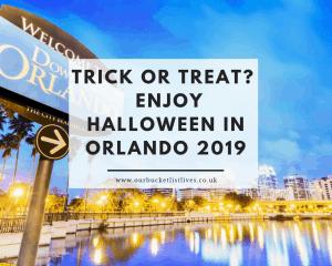 Enjoy a Spooky Halloween in Orlando 2019