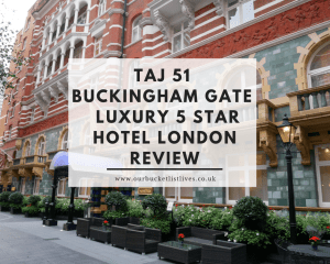 Taj 51 Buckingham Gate | Luxury 5 star Hotel London Review