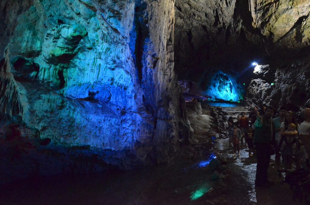 Wookey Hole cave tour