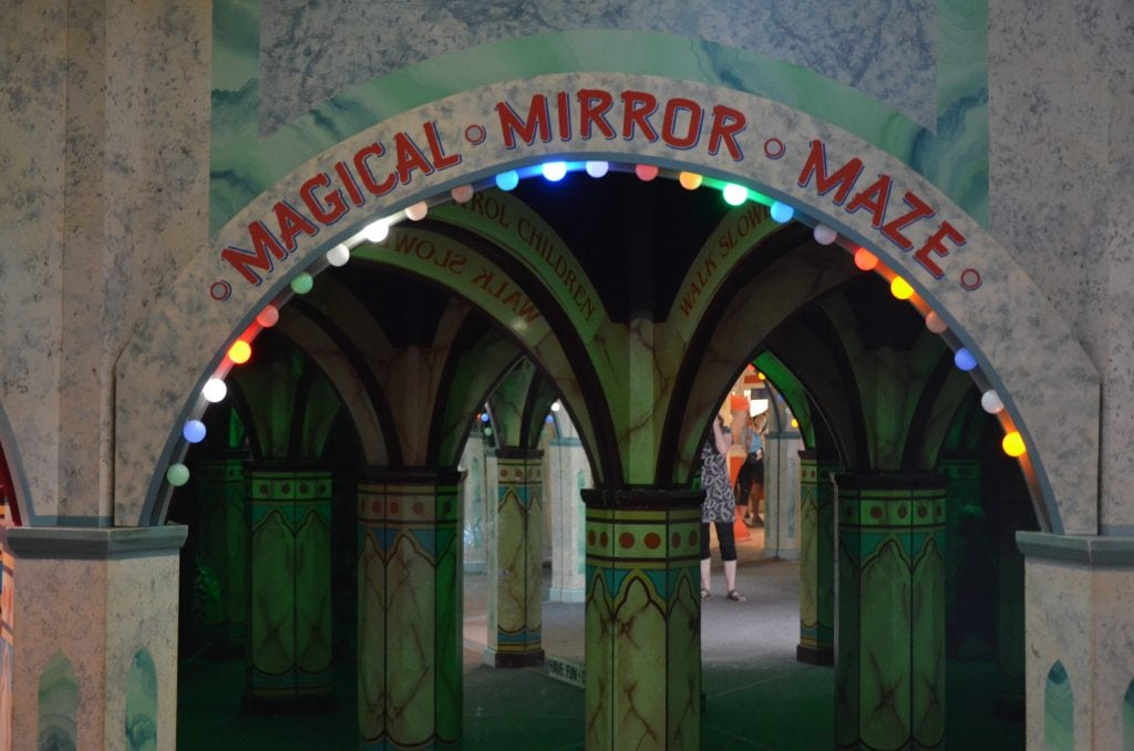 Magical Mirror Maze