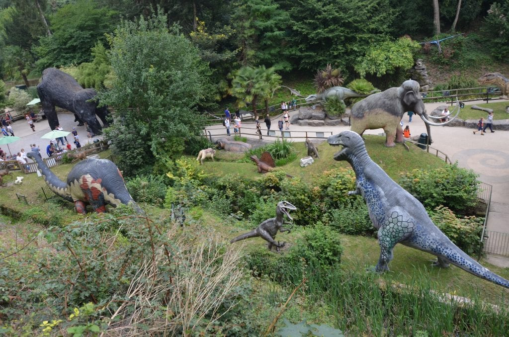 The Dino Park at Wookey Hole