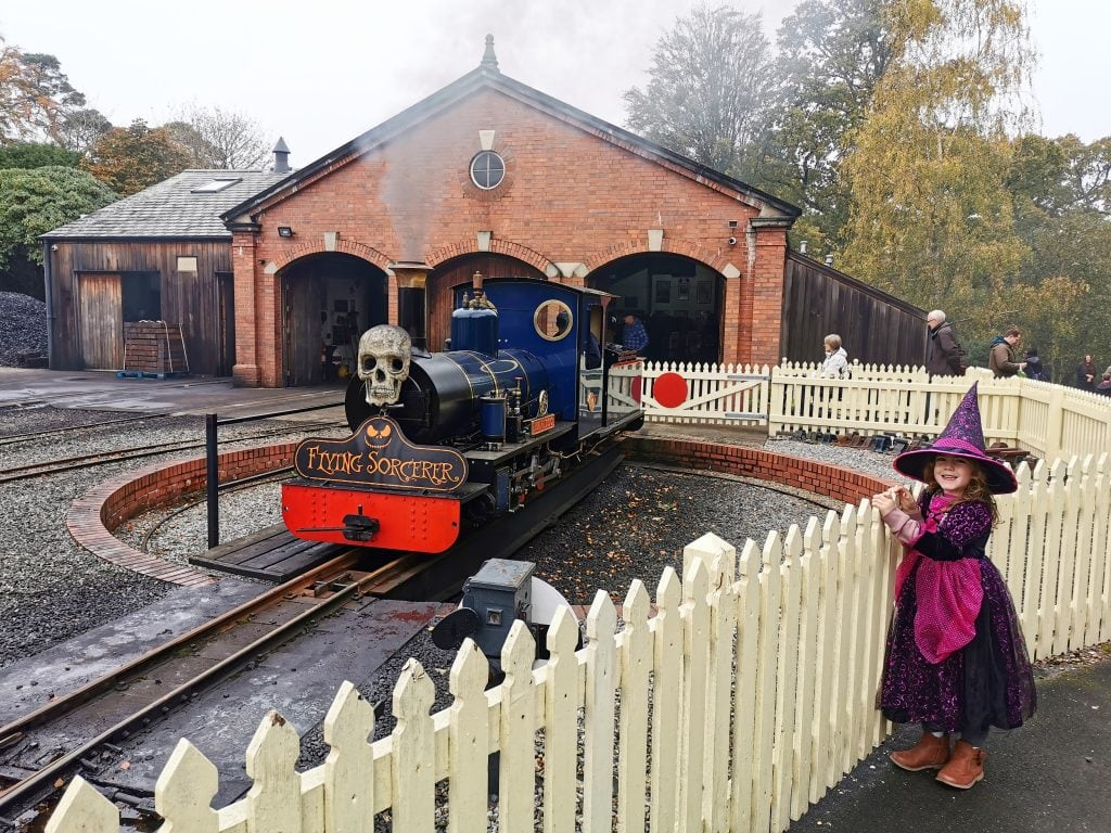 Exbury Gardens & steam railway