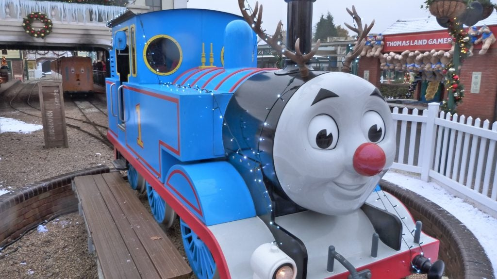 Drayton Manor Theme Park Magical Christmas