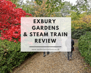 Exbury Gardens & Steam Railway Review - Halloween