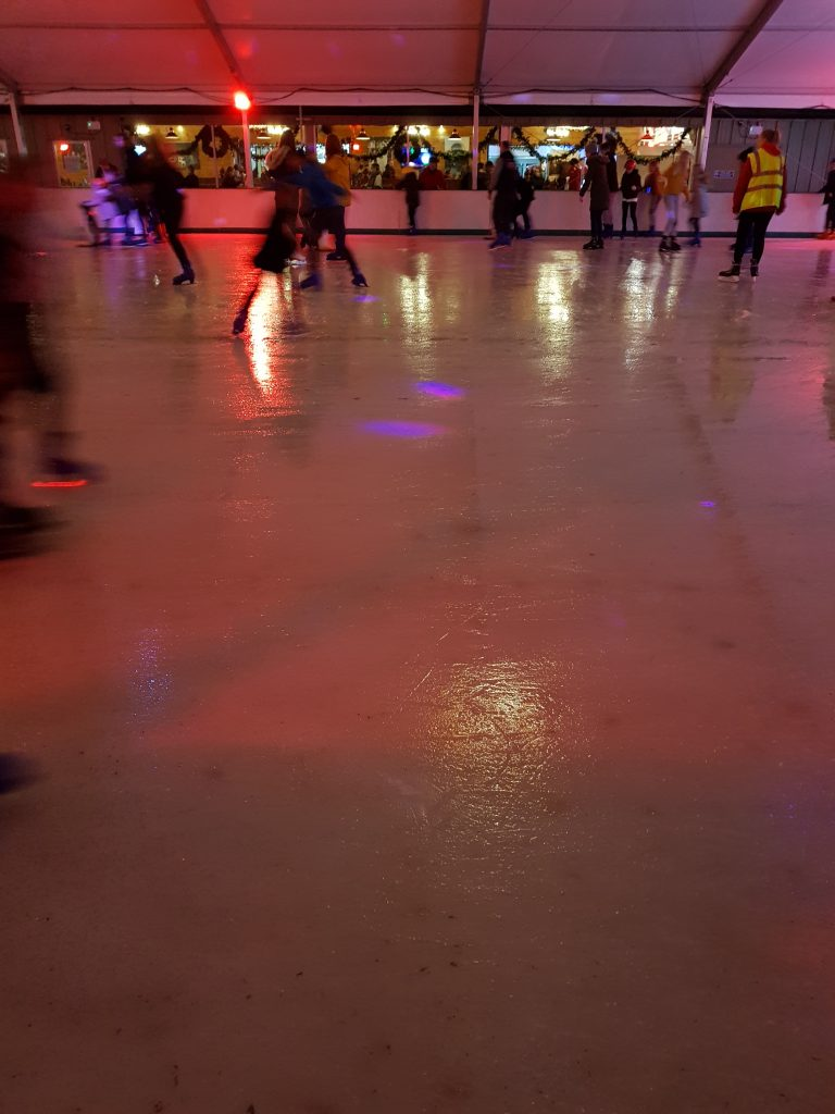 ice skating at stockeld park