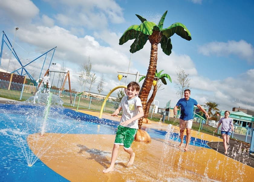 Adventure playground at Camber Sands Holiday Park