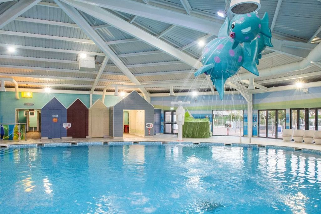 Indoor swimming pool at Little Sea