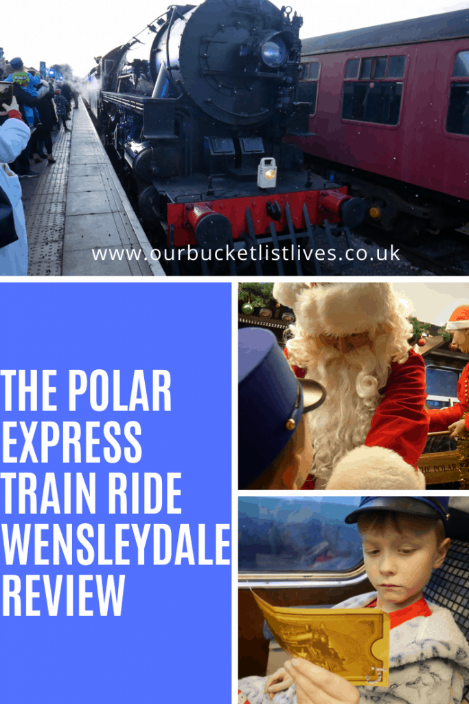THE POLAR EXPRESS Train Ride Wensleydale Review