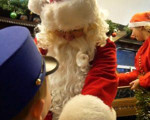 Meeting Santa Polar Express