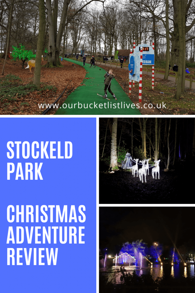 Stockeld Park The Christmas Adventure Review | Winter Illuminations