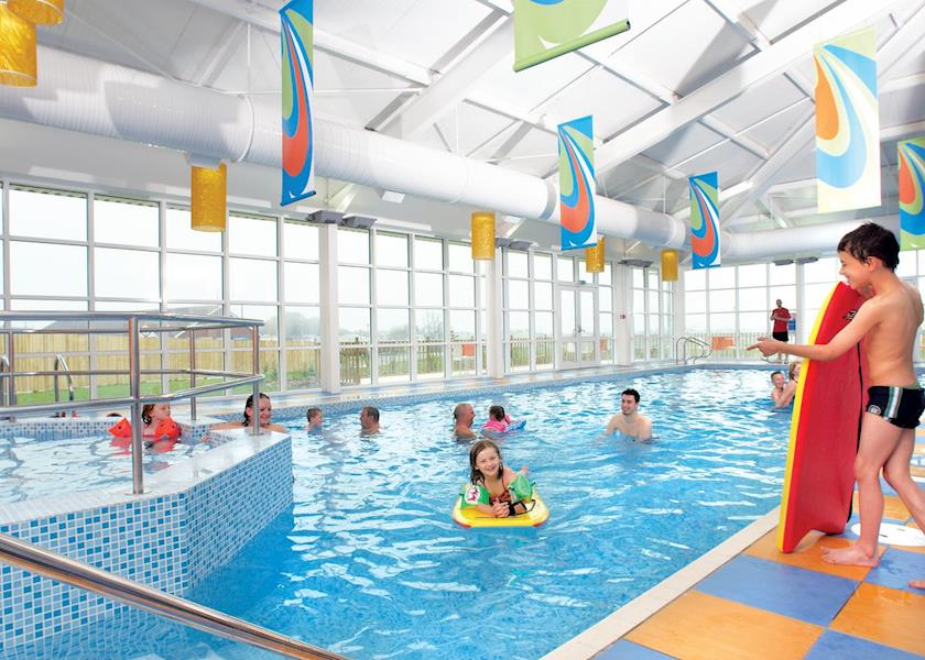 Indoor swimming pool at Withernsea Sands