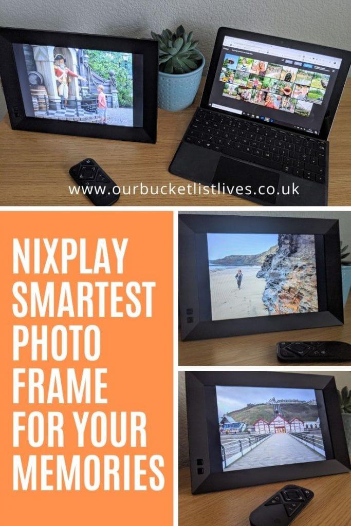 Nixplay Smart Wi-fi photo frame