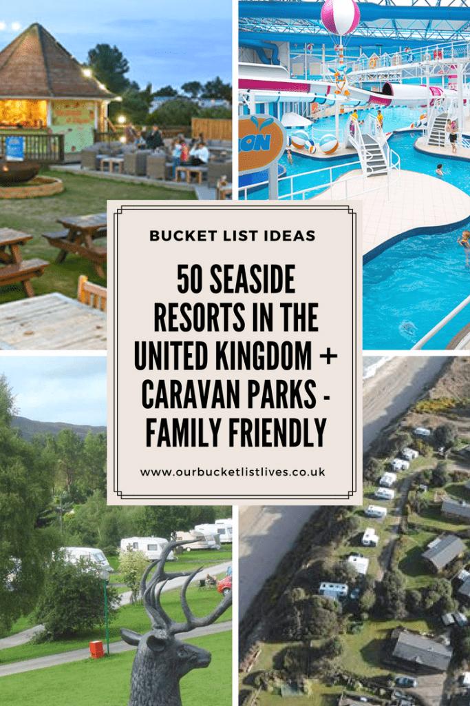 50 Caravan Parks Near Seaside Resorts in the UK