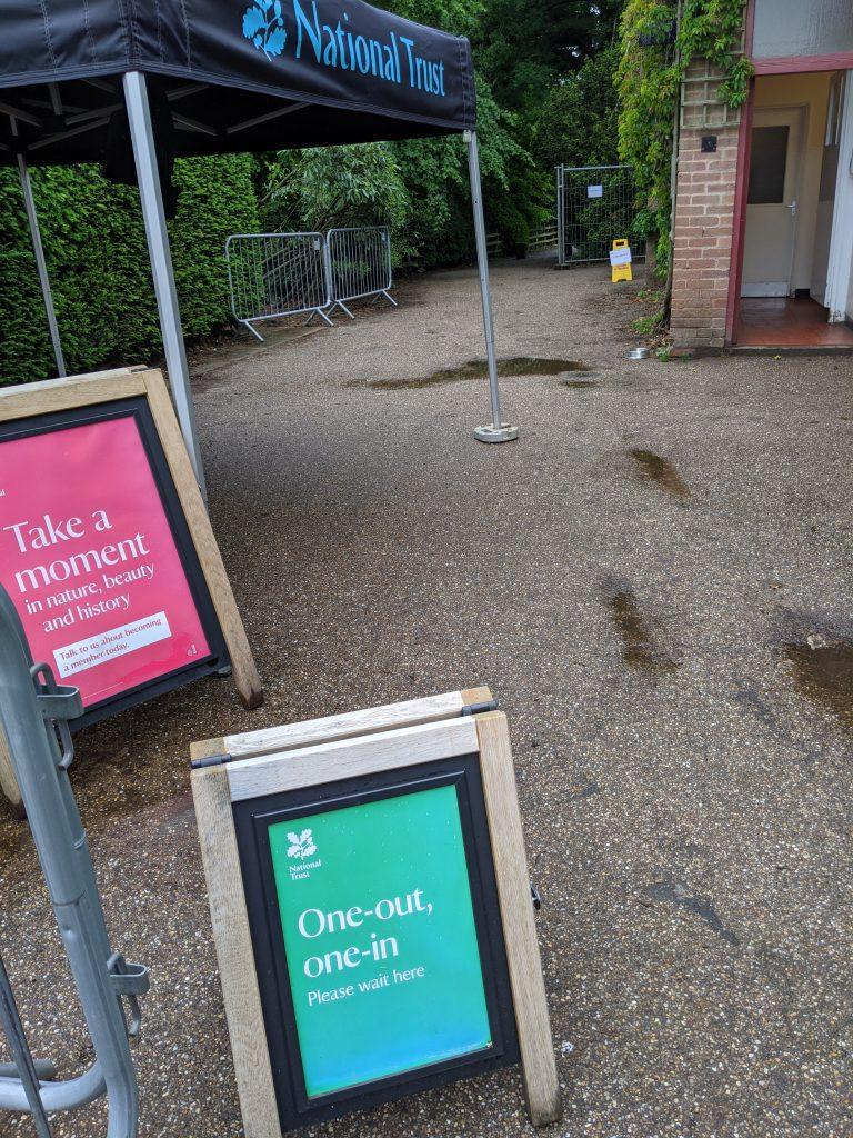 Visiting National Trust Gardens During Coronavirus