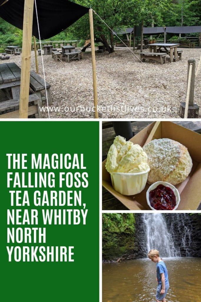 The Magical Falling Foss Tea Garden, Near Whitby