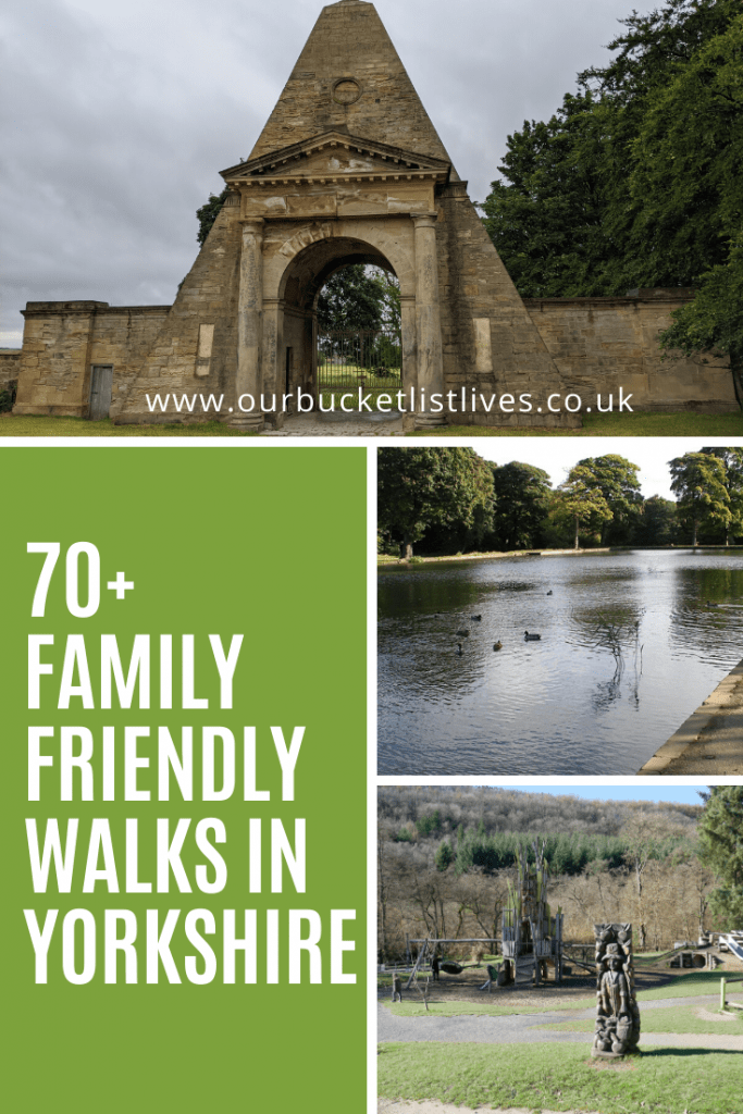 70+ Family Friendly Walks in Yorkshire