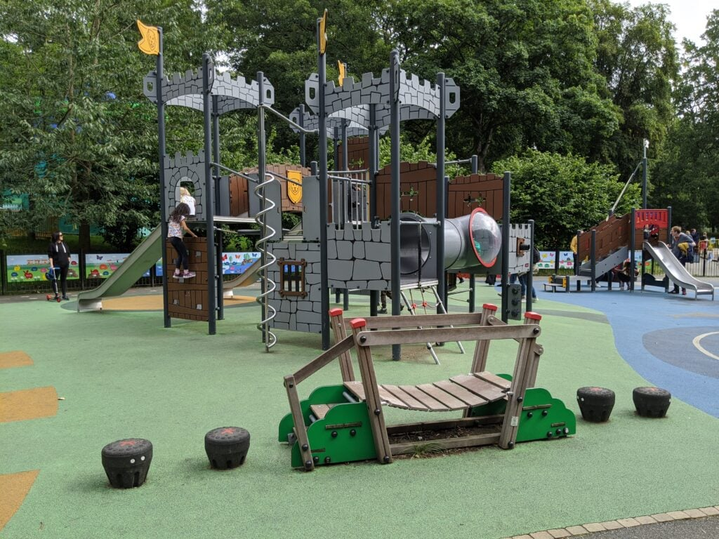 Roundhay Park playground