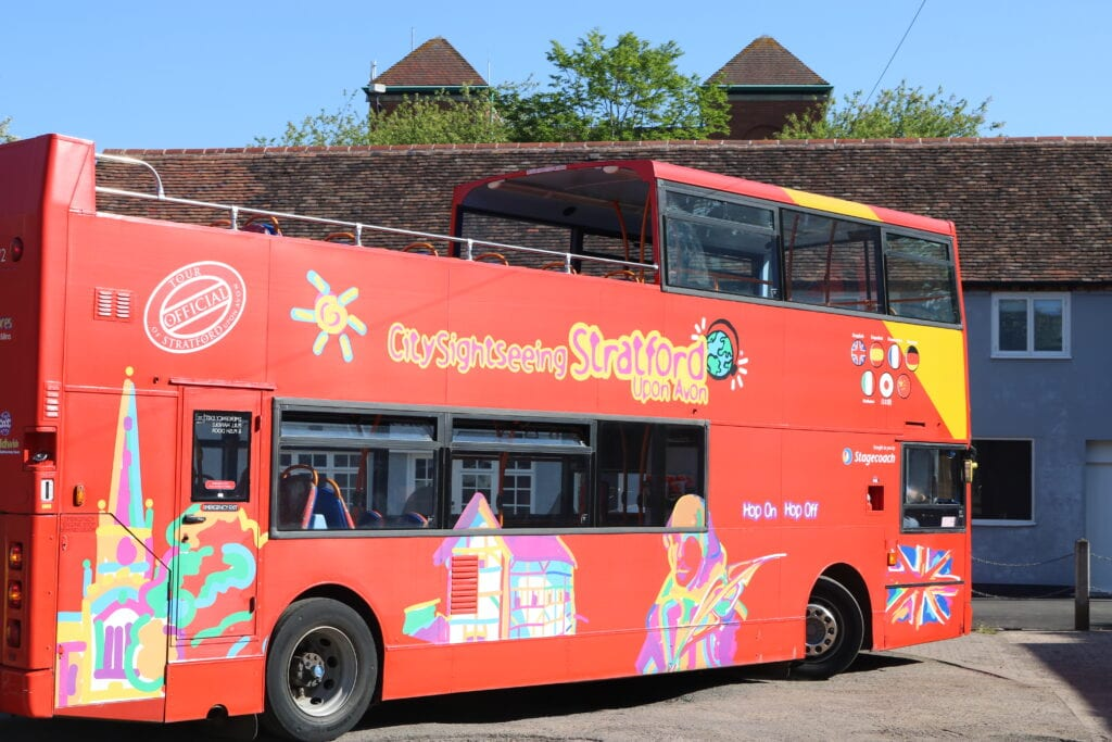 City Sightseeing Bus Stratford Upon Avon