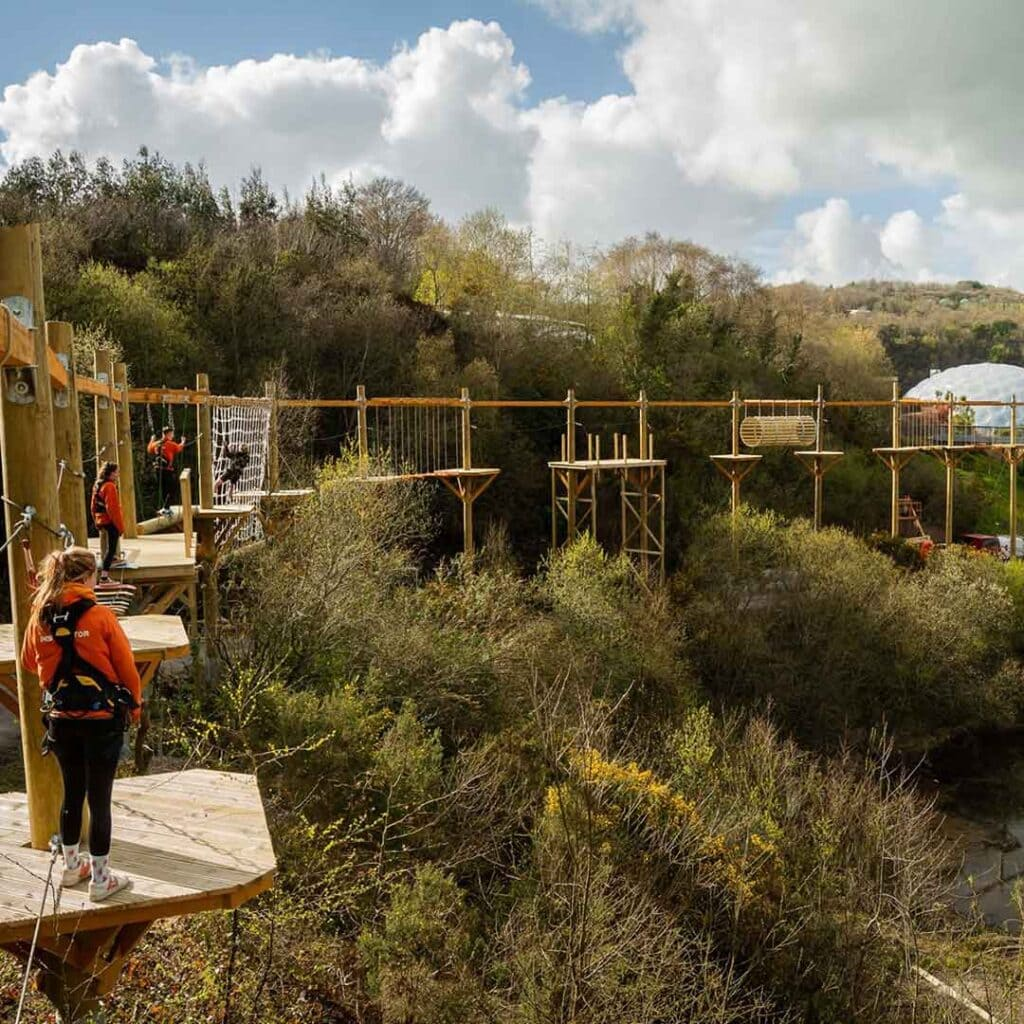 Hangloose Adventure Eden Project