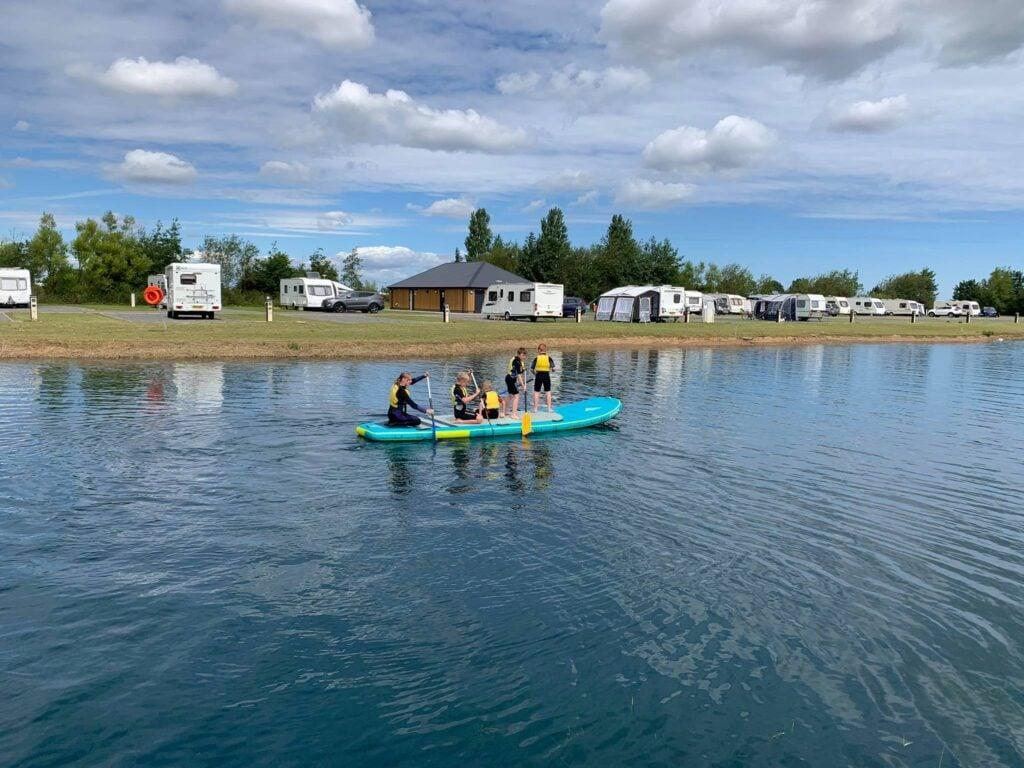 Lincolnshire Aquapark and Watersports lake