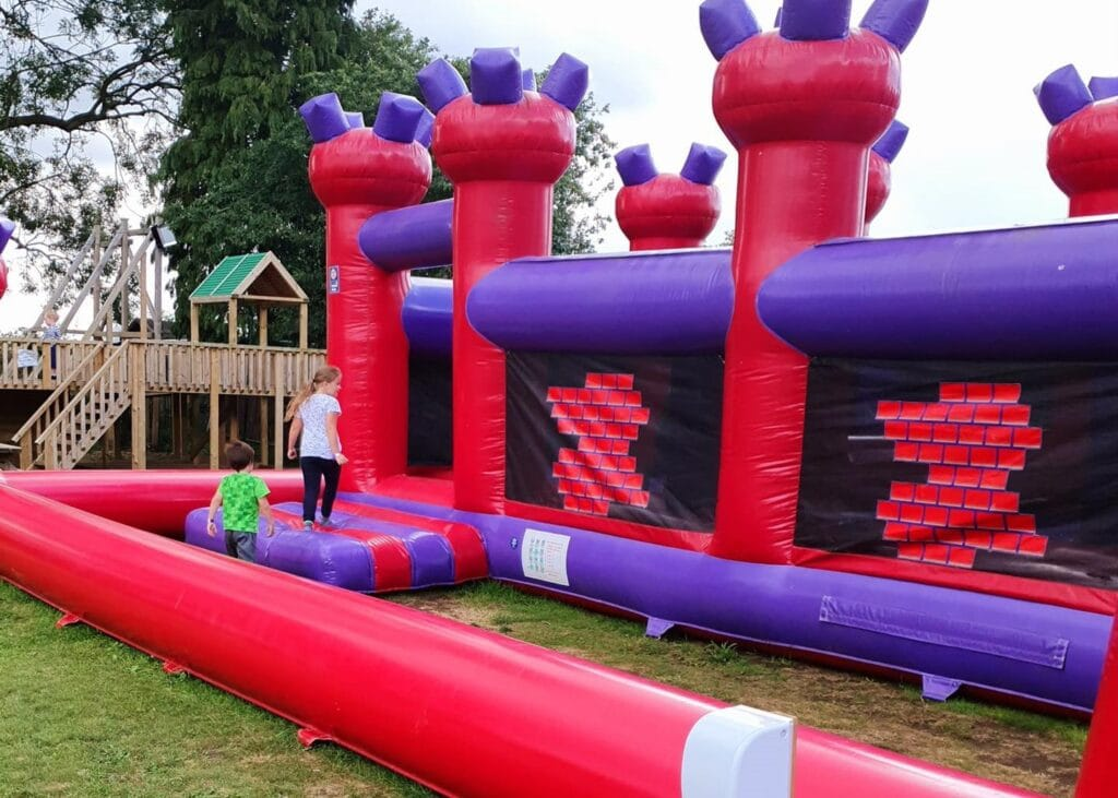 The Shires Pub Bouncy Land