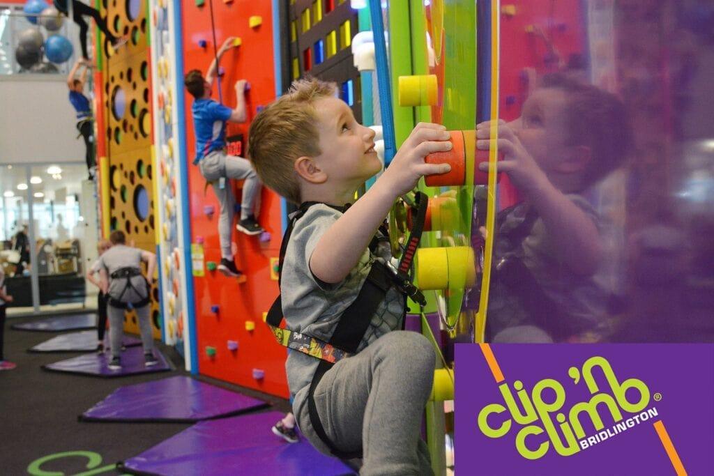 Clip n climb Bridlington