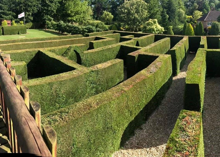 Wragby Maze