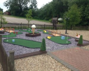 Blyton Ice Cream Crazy Golf and Play Park