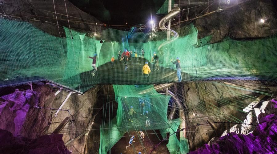Thumbnail for Zip World Slate Caverns