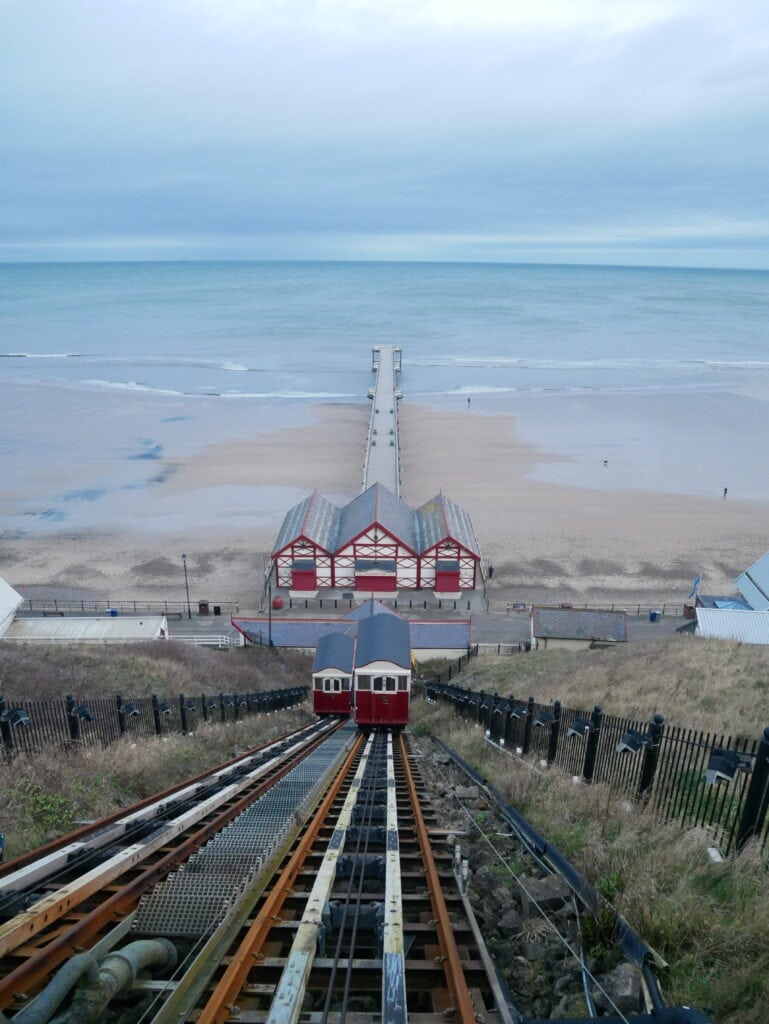 Saltburn-by-the-sea beach
