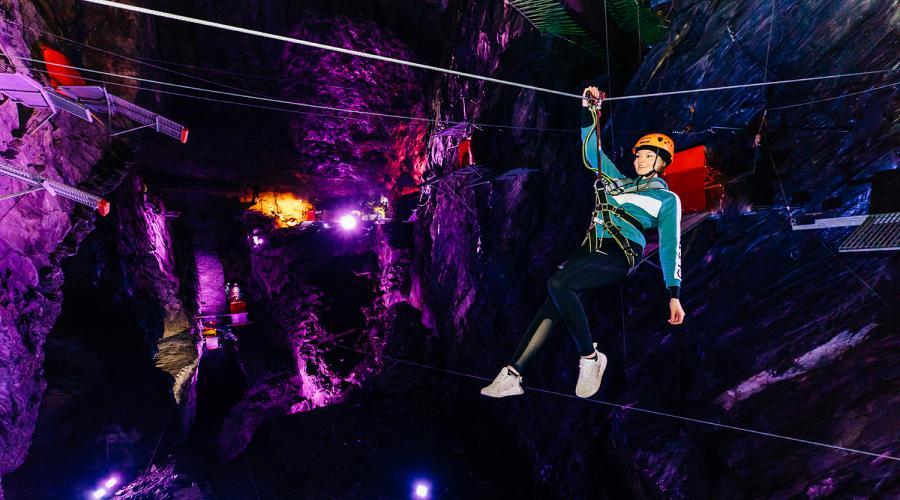 Zip World Slate Caverns
