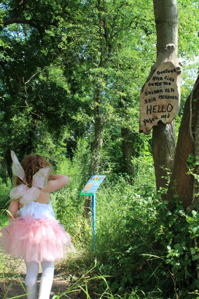 Churchfields Farmhouse Ice Cream Fairy Trail