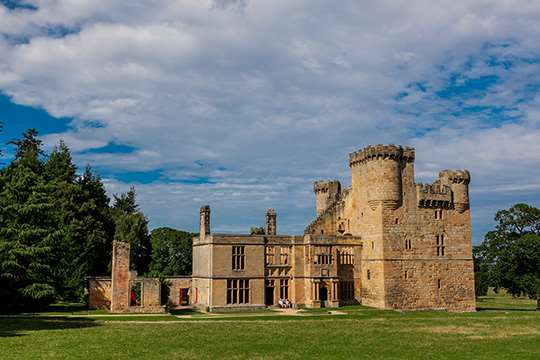 Belsay Hall Castle and Gardens