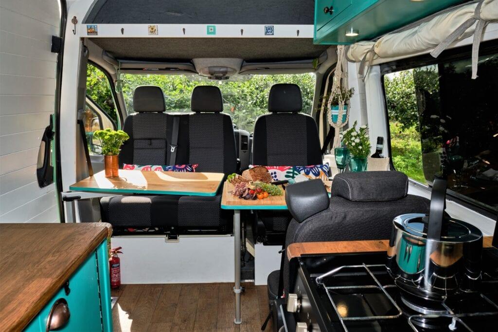 Dora The Camper Van For Hire Kent