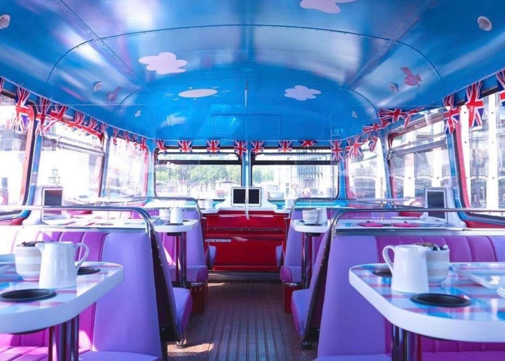 Peppa Pig Afternoon Tea Bus Tour London
