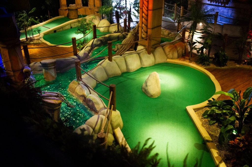 Featured image for The Lost City Adventure Golf Belfast