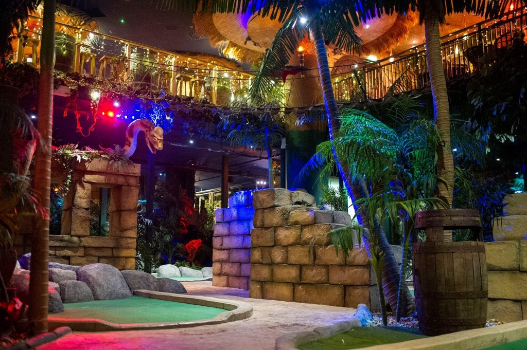 Featured image for The Lost City Adventure Golf Nottingham
